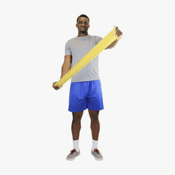 CanDo Latex Free Exercise Band - 5' length
