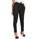 High Waisted Trousers Pants Plus Size Available