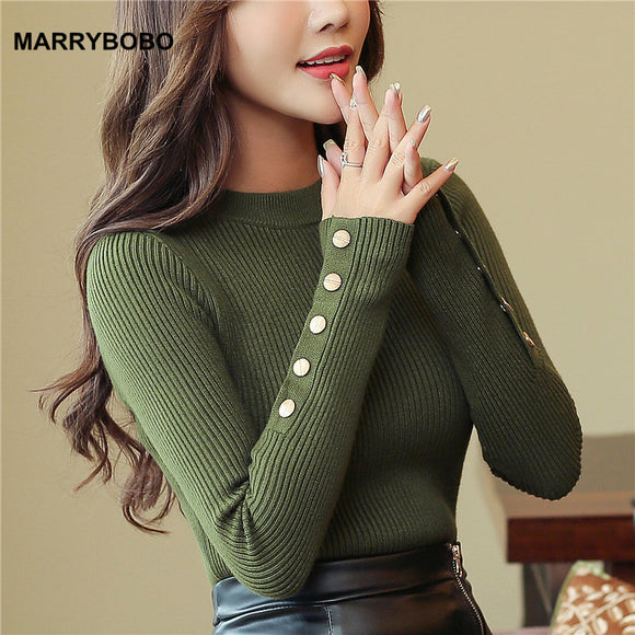 Long Sleeve O-Neck Pullover Sweaters