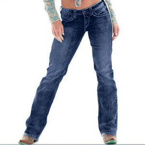 High Waist Loose Denim Jeans