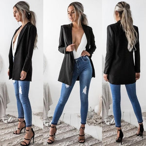 Long Sleeve Casual Blazer
