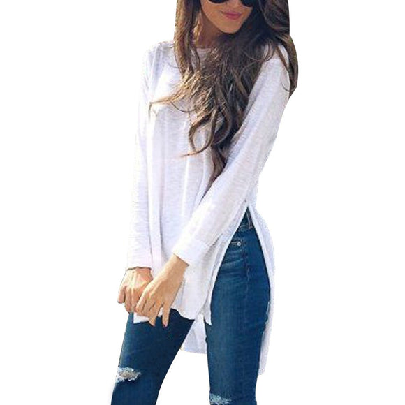 O-Neck Long Sleeves Loose Sweater