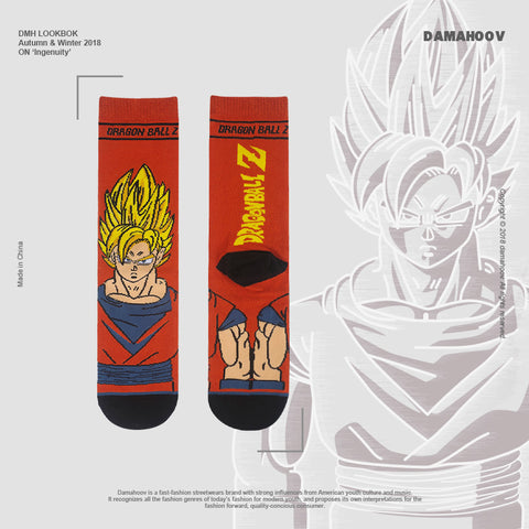 """DRAGON BALL"" Sock"