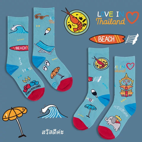 National Series Socks - Thailand