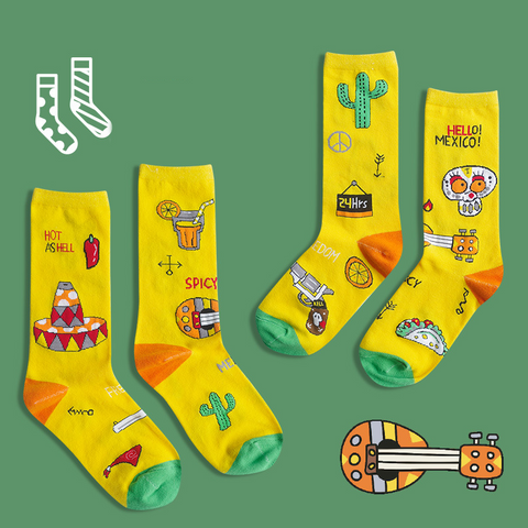 National Series Socks - Mexico