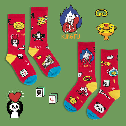 National Series Socks - China