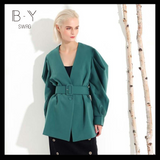 Batwing Sleeve Jacket