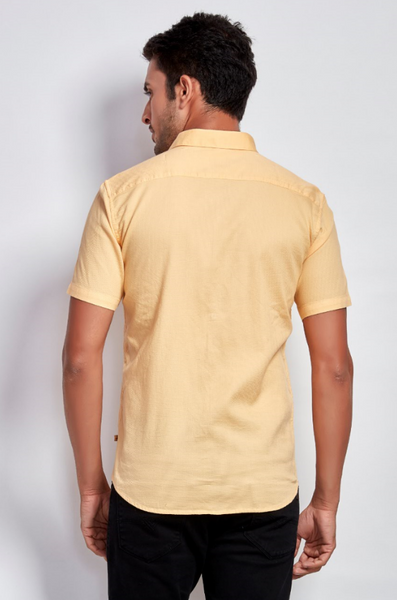 Orange Shirt - Half Sleeve - Signature Store