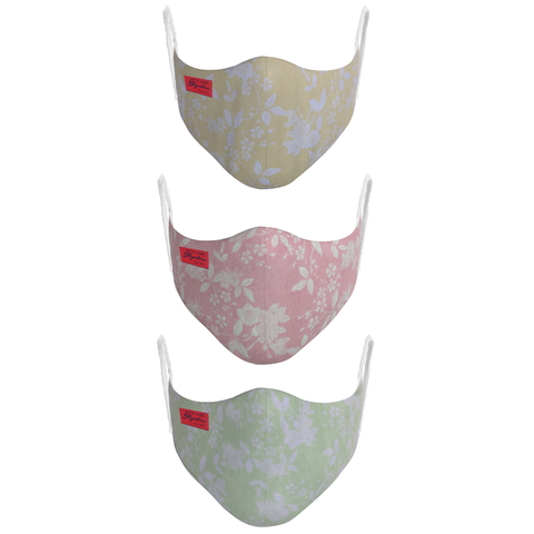 2-Layer Everyday Protective Mask - Pack of 3 (MK-49) - Signature Store
