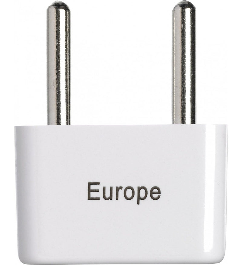Go Travel Europe Twin Non-Ground Adapter