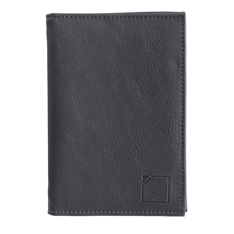 Lewis N. Clark RFID-Blocking Fine Leather Passport Case