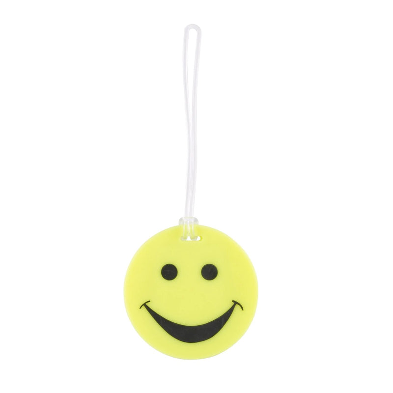 Lewis N. Clark Smiley Face Luggage Tag