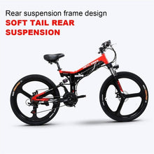 Load image into Gallery viewer, 26inch electric mountain bicycle 48V400W high speed motor Lightweight frame hidden lithium battery lcd3 electric ebike