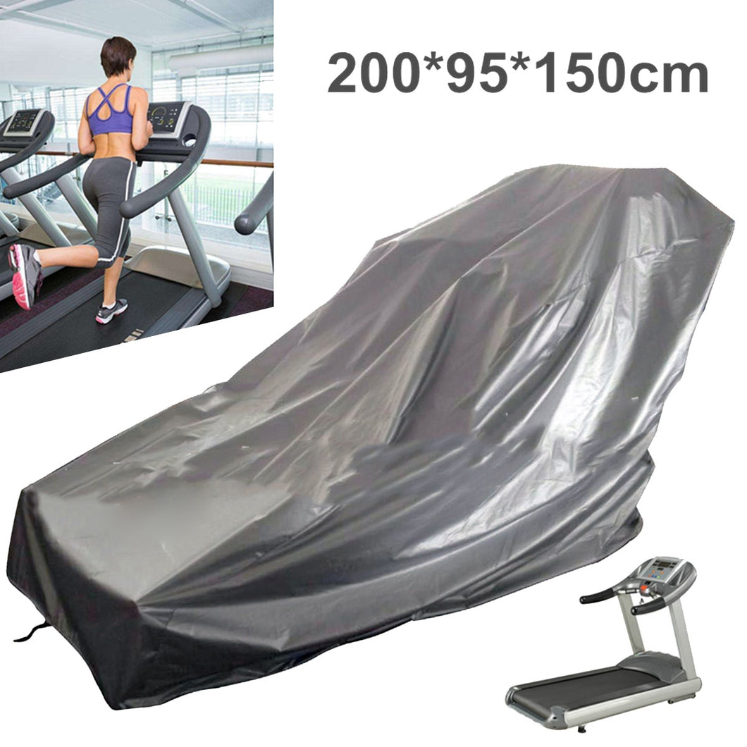 Treadmill Dust-proof Weatherproof Cover Equipment For Treadmills Size 200*95*150cm anti-ultraviolet Polyester Oxford Cloth