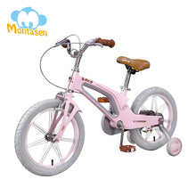 Load image into Gallery viewer, MONTASEN Kids Bike with Auxiliary Wheel for Boy Girl Safety Cycling Baby Walk Learning Children Bicycle 16 14 Inch  Balance Bike