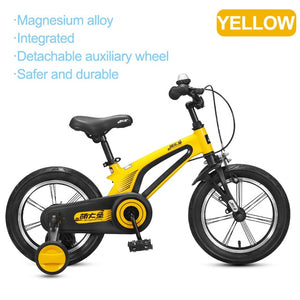MONTASEN Kids Bike with Auxiliary Wheel for Boy Girl Safety Cycling Baby Walk Learning Children Bicycle 16 14 Inch  Balance Bike