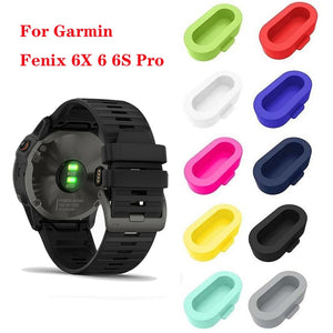 JKER Anti-Dust Dustproof Cover for Garmin Fenix 6X / 6 / 6S Pro Smart watch Wearable Accessories Cover
