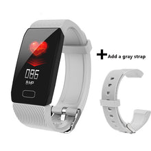 Load image into Gallery viewer, Men Fitness Smart Band Blood Pressure Heart Rate Monitor Bracelet Waterproof Sport Pedometer Smart Wristband Q1 For Android iOS