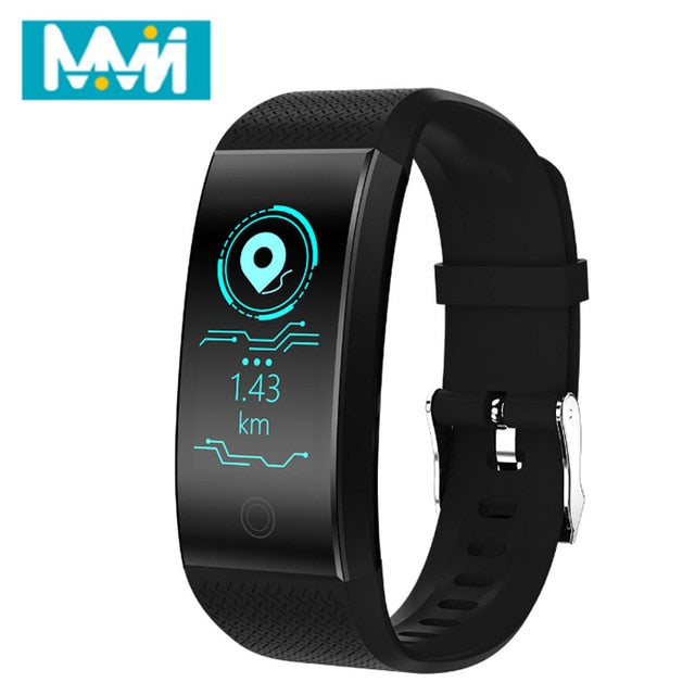 MMN Original Qw18 Smart Wristbands Fitness Bracelet Band Gps strap Replacement Band Waterproof Watch Heart Rate Tracker 24H Ship