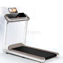 Load image into Gallery viewer, 0.8-14KM/H Household Intelligent Foldable Mini Treadmill Ultra-silent Indoor Mute Running Family Fitness Training Equipment 588W