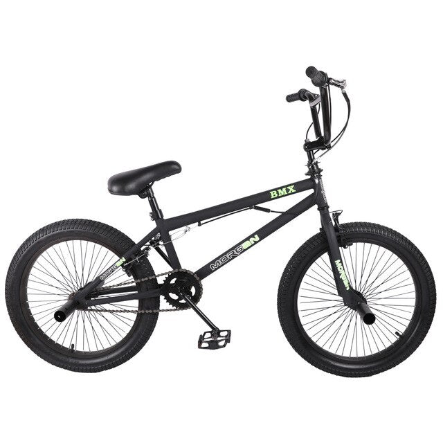 HILAND 10 Color&Series 20'' BMX Bike Freestyle Steel Bicycle Bike Double Caliper Brake Show Bike Stunt Acrobatic Bike