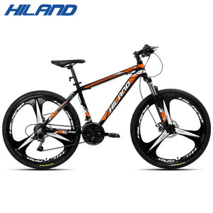 18/21 / 27 Speed Mountain Bike Bicycle 26  inch steel or aluminum frame red and black aviliable MTB free shipping