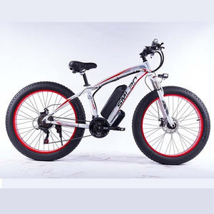 1000W Electric Bicycle 13AH Battery Fast Speed Electric Mountain E-Bike for Adult 35km/h Ebike Snow 21 Speed Free Shipping