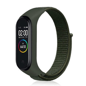 Xiaomi Mi Band 3 Strap For Mi Band 3  Watch Strap 22mm Nylon Mi Band 4 Strap In Smart Wearable Accessories For Smart Watch M3/4