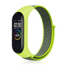 Load image into Gallery viewer, Xiaomi Mi Band 3 Strap For Mi Band 3  Watch Strap 22mm Nylon Mi Band 4 Strap In Smart Wearable Accessories For Smart Watch M3/4