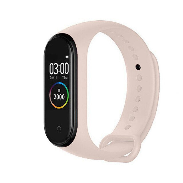 M4 Smart Bracelet Waterproof Men Sport Watch Band 4 Heart Rate Pedometer Monitor Blood Pressure Smart Wristband For XiaoMi IOS
