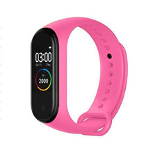 Load image into Gallery viewer, M4 Smart Bracelet Waterproof Men Sport Watch Band 4 Heart Rate Pedometer Monitor Blood Pressure Smart Wristband For XiaoMi IOS