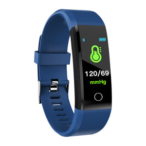 Smart Watch smart wristband Heart Rate Monitor Blood Pressure Fitness Tracker Smartwatch Sport Watch for ios android +BOX