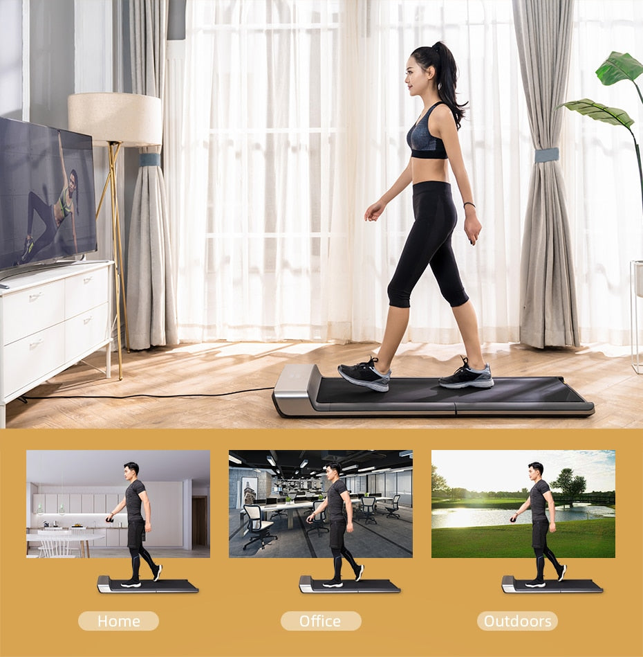 Walking Pad A1 Treadmill Exercises Gym Machine  Running Fitness Machines For Home Folding Electrica Caminadoras Para Ejercicio