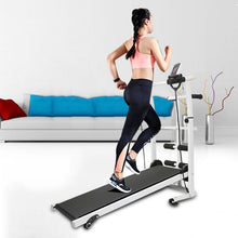 Load image into Gallery viewer, Mechanical Treadmill Mini Folding  Running Training Fitness Treadmill Multi-function Fitness Equipment Treadmill HWC