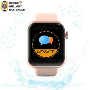 Apple Smart watch Sports Fitness Bracelet Sleep Tracker Heart Rate Monitor Blood Pressure Smart Band For Women Men PK W34 D20 A6