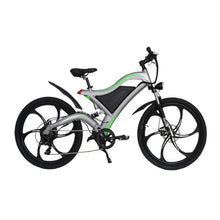 Load image into Gallery viewer, AOSTIRMOTOR Electric Mountain Bike Electric Bicycle Beach Cruiser Electric Bike 500W Booster Ebike 36V 10.4AH Lithium Battery