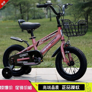 Children's bicycles bicyclists 2 to 10 years old baby 16 inch male and female children's bicycle stroller