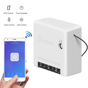 SONOFF Mini Two Way Intelligent Switch DIY Appliance Automation Remote Control Switches for Alexa Google Home WiFi Smart Switch