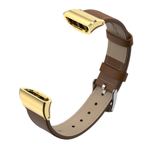 For Huawei Band 3 pro Strap in Watchbands for Huawei Band 3 Bracelet Leather Stainless Steel Smart wearable Accessories