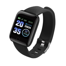 Load image into Gallery viewer, 116 Plus Smart Wristband D13 Sports Fitness Bracelet D18 Smart Bracelet Blood Pressure Measurement Pedometer Smartband Watch New