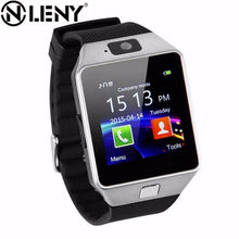 Load image into Gallery viewer, Wearable Devices DZ09 bluetooth smart watch for android phone support SIM/TF Multi languages men women children sport wristwatch