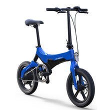 Load image into Gallery viewer, 16inch electric bike 36V250W motor mini fold city ebike Ultra-light lithium battery boost bicycle smart lcd ebike