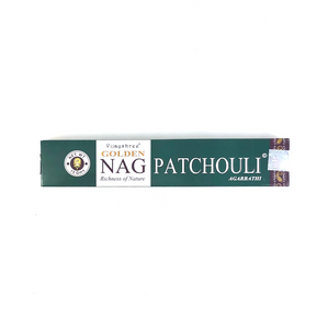 Golden Nag Patchouli incenses