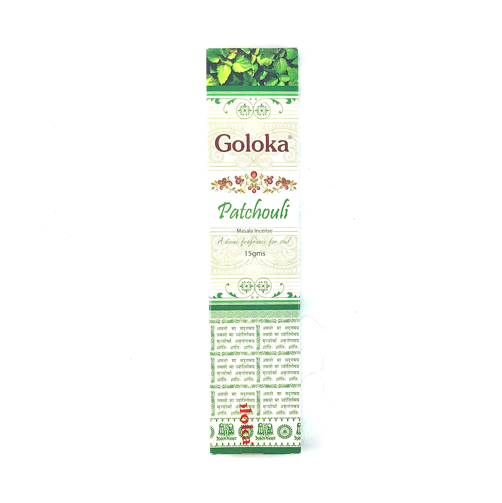 Goloka Patchouli incenses
