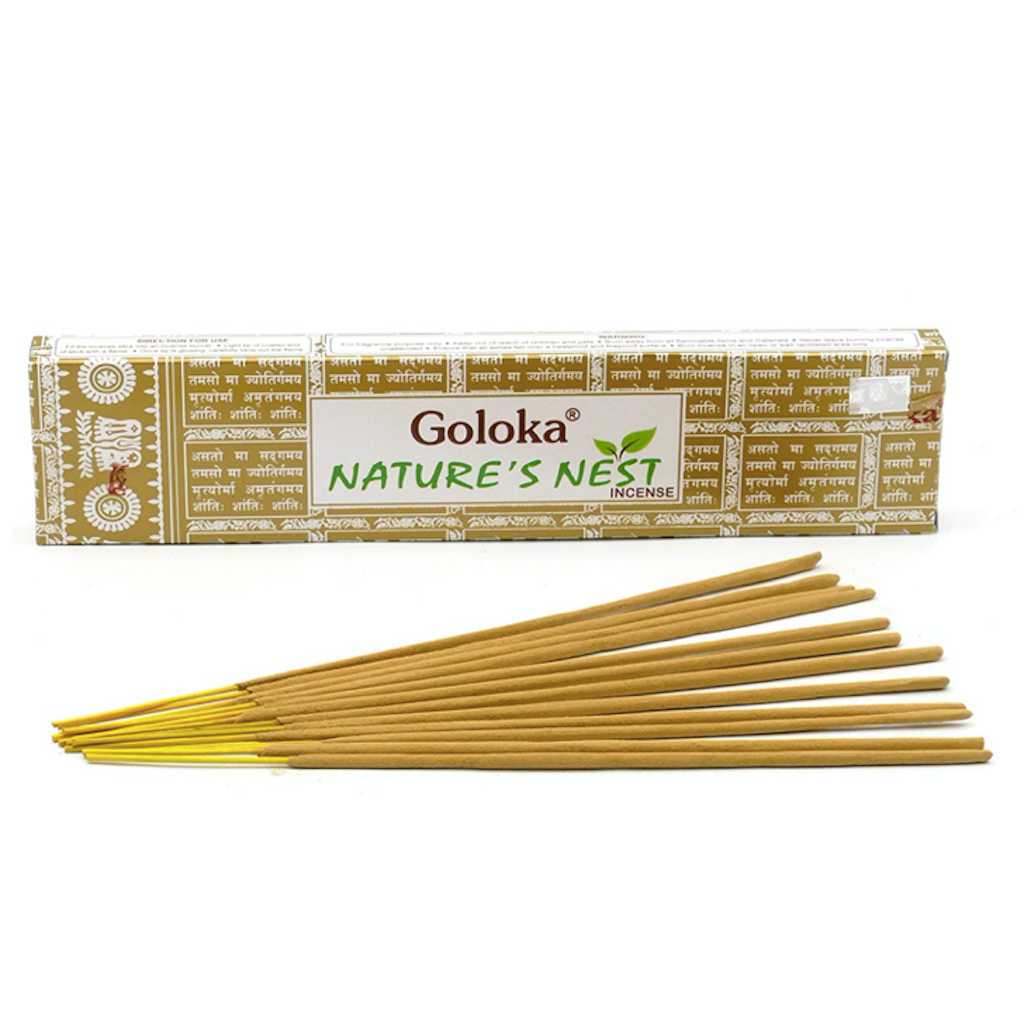 Goloka Nature's Nest incenses