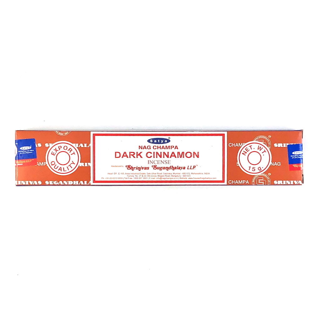 Satya Dark Cinnamon incenses