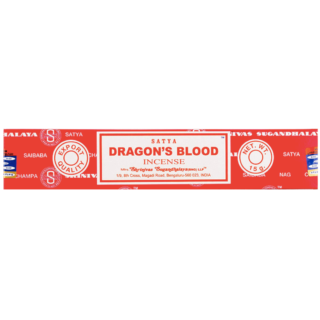 Satya Dragon's Blood incenses