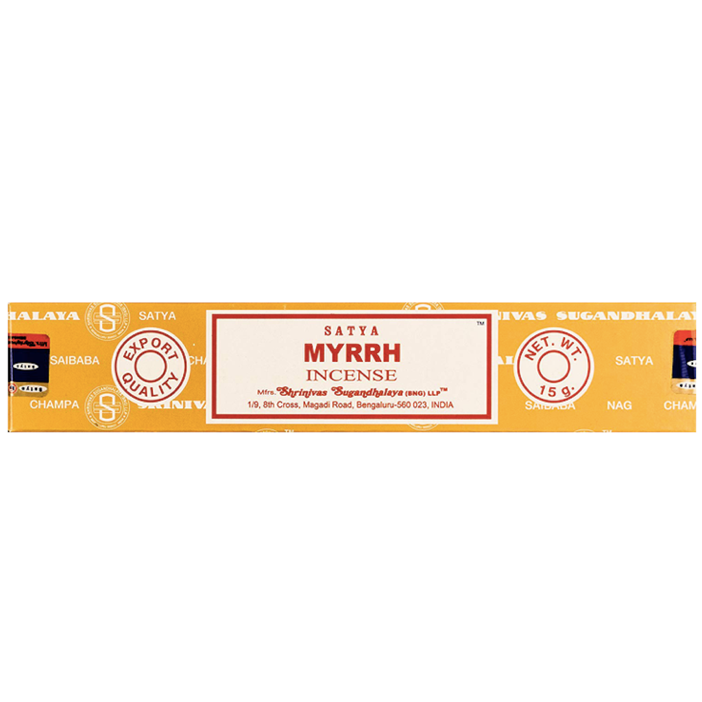 Satya Myrrh incenses