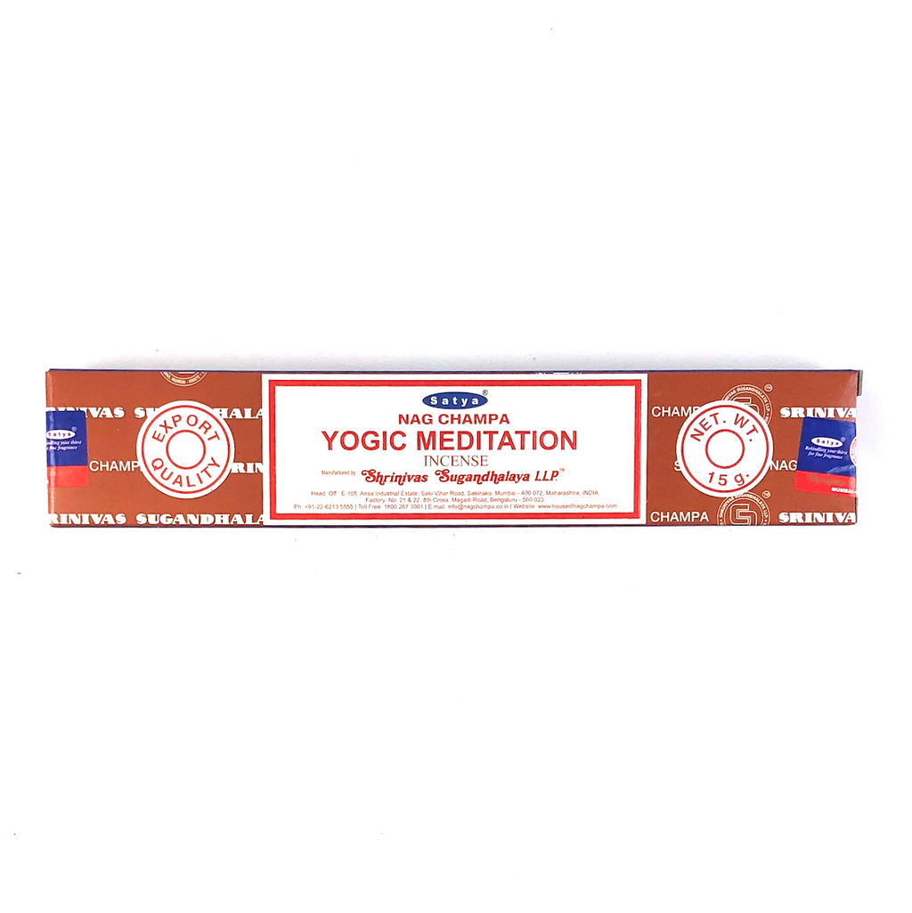 Satya Yogic Meditation incenses