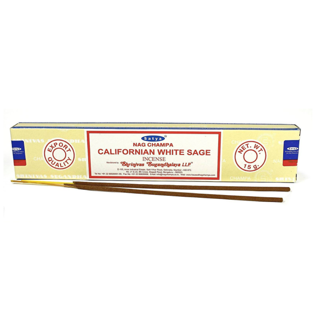 Satya Californian White Sage incenses